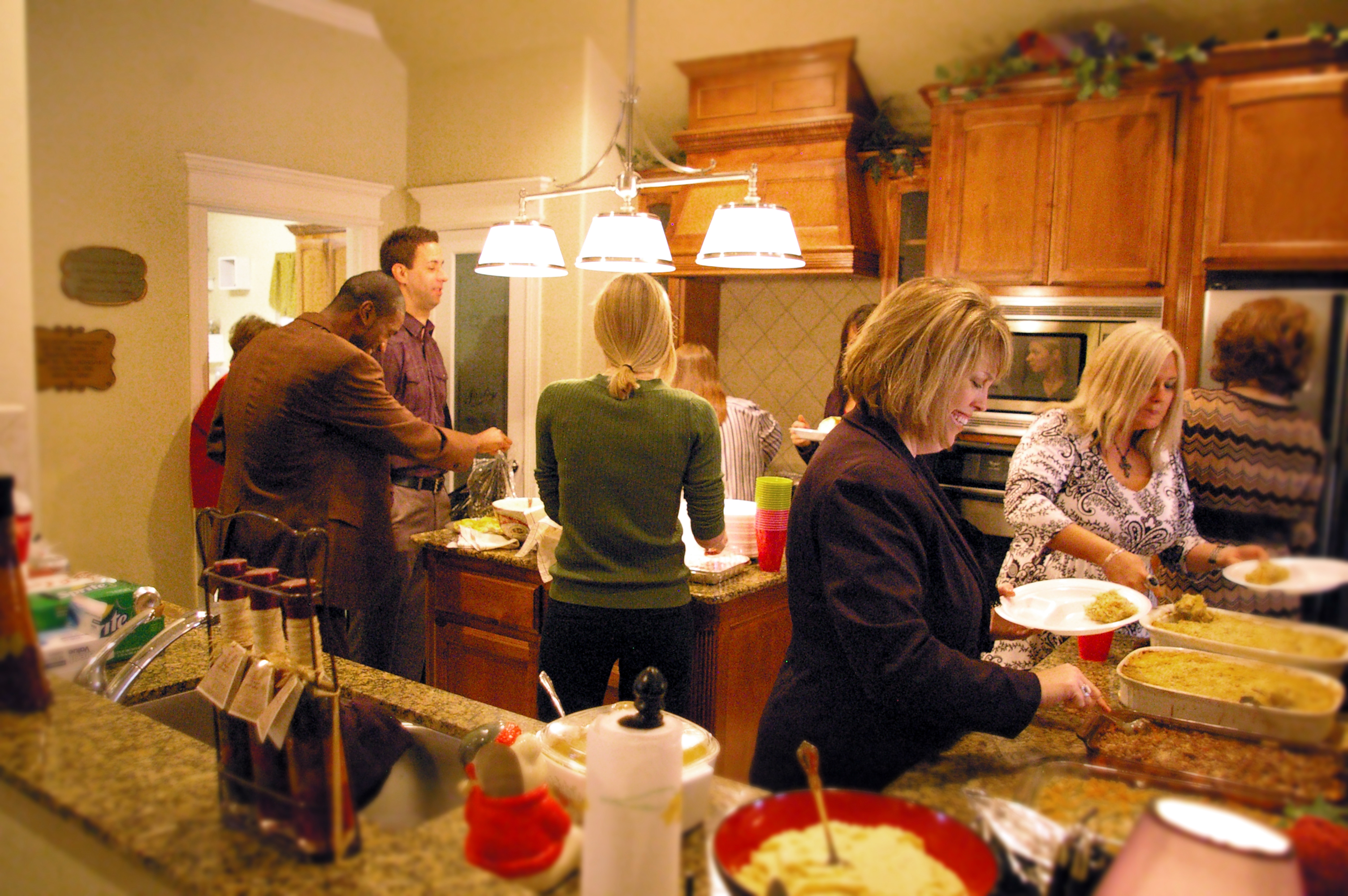 Home Creations Open Floor Plans Great For Holiday